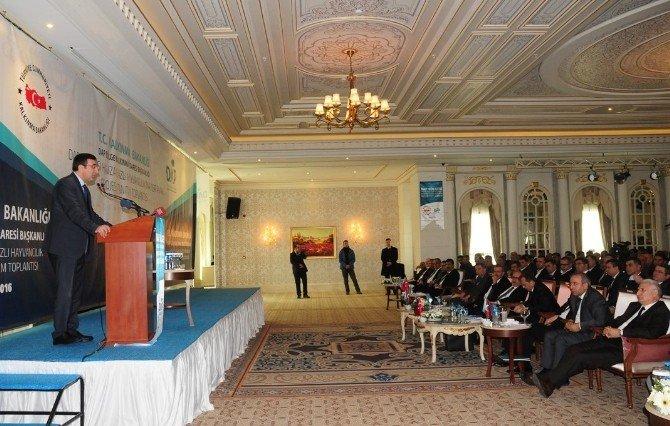 Kalkınma Bakanı Cevdet Yılmaz Van'da