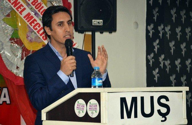 DBP Muş İl Başkanlığı 2. Olağan Genel Kurul Toplantısını Yaptı