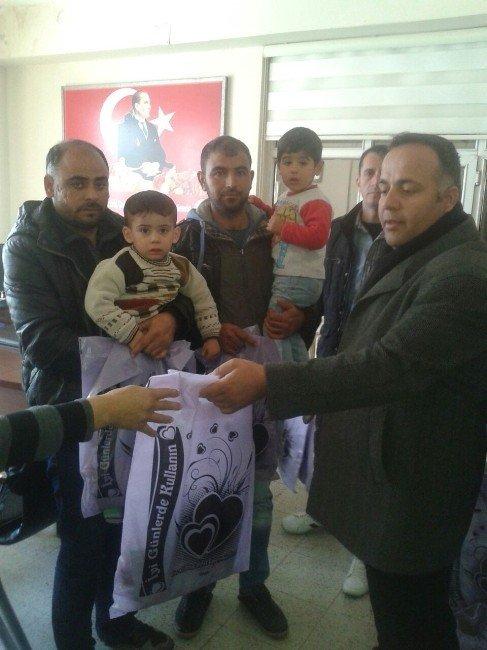 BBP'den Mültecilere Yardım Eli