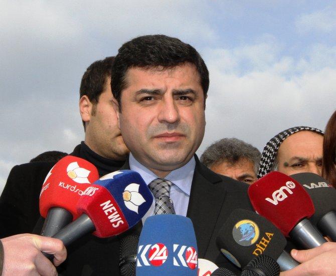 Demirtaş: Türkiye, Enver Paşa zihniyetiyle savaşa sürüklenmiş olacak