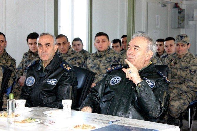 Hava Kuvvetleri Komutanı Ünal'dan, Suriye Sınırındaki Hawk Bataryası'na Ziyaret