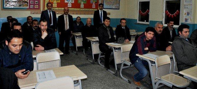 Mtsk Direksiyon Uygulama Sınav Komisyon Üyelerine Eğitim