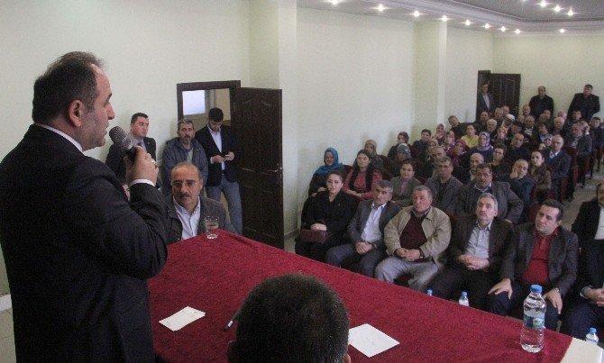 """AK Parti Milletvekilli Demir """"Halkın Sorunlarıyla İlgilenmek İçin Vekil Oldum"""""""