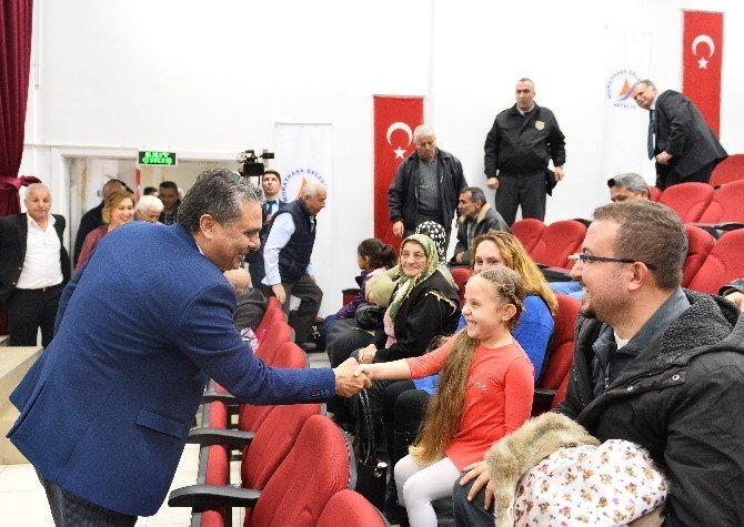 Başkan Uysal, Dutlubahçe Mahalle Halkıyla Buluştu