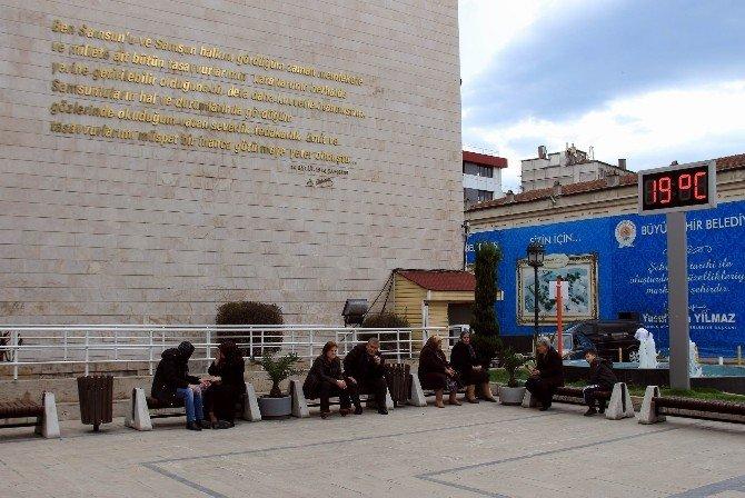 Samsun'da Son 60 Yılın Sıcaklık Rekorunu Kırabilir