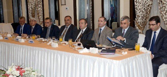 SERKA'nın Yönetim Kurulu Sarıkamış'ta Toplandı