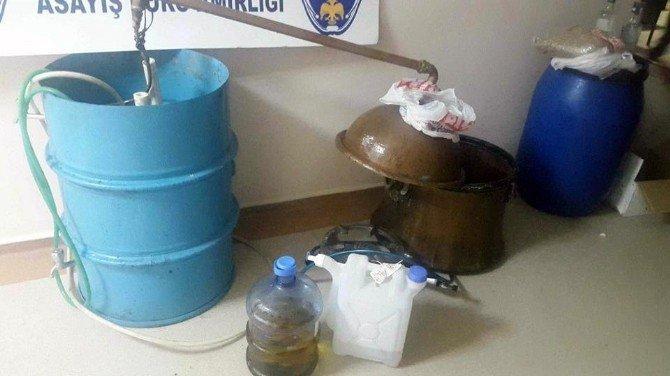 Sahte İçki Üretimine Polis Darbesi