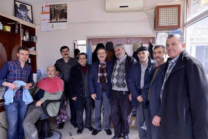 Başkan Ataç, Çifteler'de Muhtarlarla Buluştu
