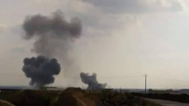 TSK, Fırtına Obüs Toplarıyla, Matar Minnak Hava Üstünün Bulunduğu Bölgeyi Vurdu