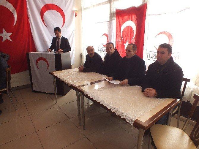 Malazgirt Kızılay'ın Kongresi Yapıldı