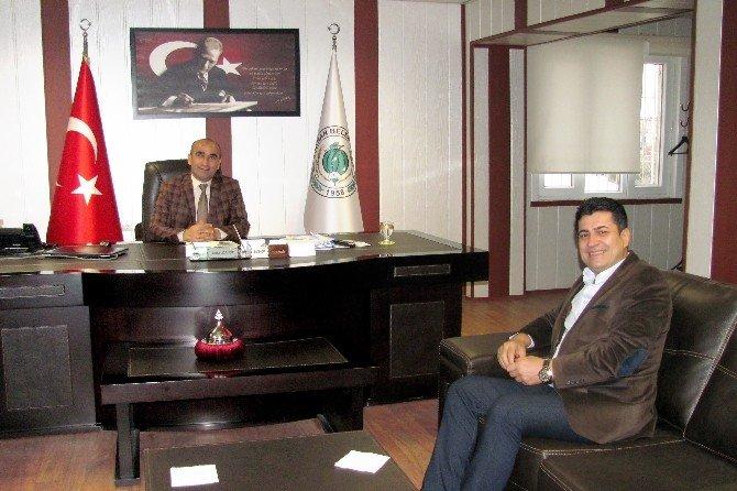 Ünlü SES Sanatçısı Murat Çelik'ten, Başkan Mehmet Özdemir'e Teşekkür Ziyareti