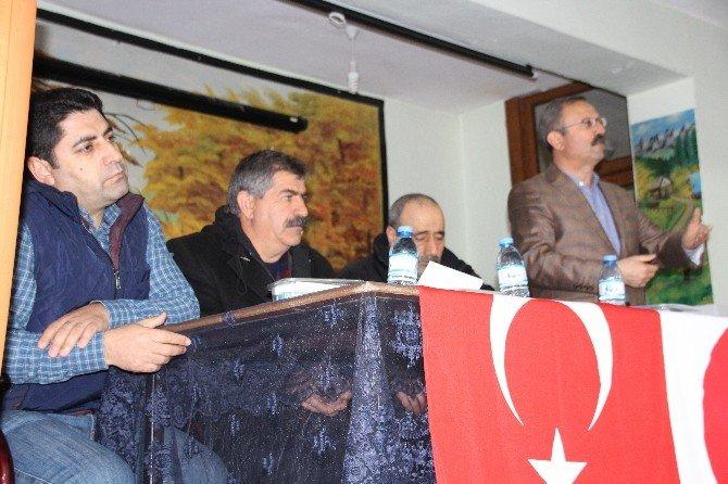 Varto'da Kızılay Başkanı Nail Baba Güven Tazeledi
