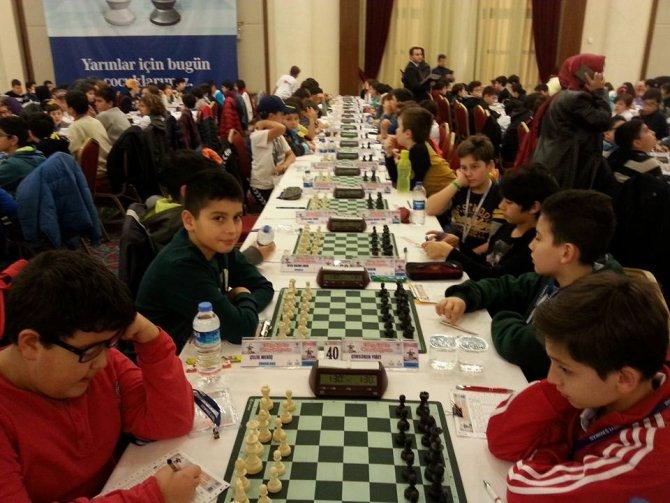 Ereğli Fatih Koleji satrançta Türkiye 16.'sı oldu