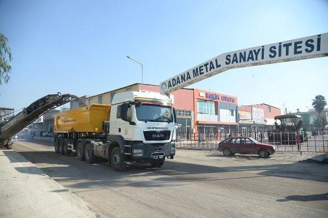 Metal İşleri Sanayi Sitesi Asfalt Yola Kavuşuyor