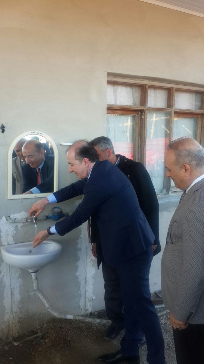 Kozan'ın Tepecikören köyü içme suyuna kavuştu
