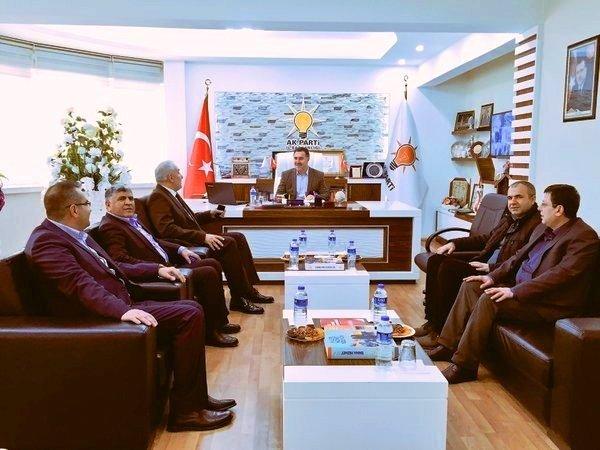 AK Parti Genel Merkez Teşkilat Başkan Yardımcısı Dr. Saadettin Aydın Malatya'da