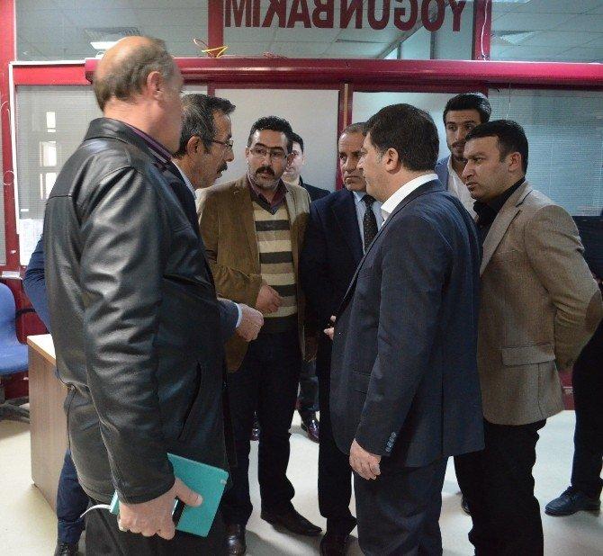 Akar'dan Yaralı Öğrencilere Ziyaret