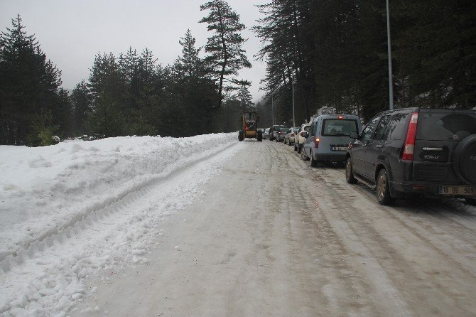 Yıldıztepe Kayak Merkezi Ulaşıma Kapandı