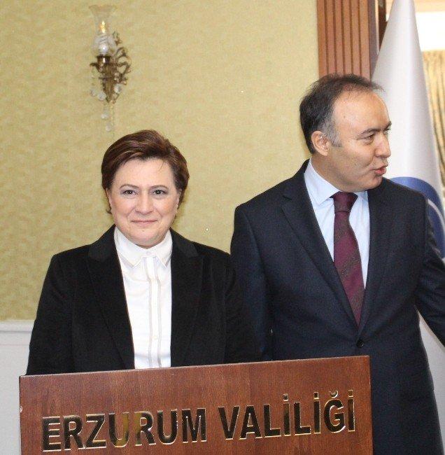 Çevre Ve Şehircilik Bakanı Fatma Güldemet Sarı, Erzurum'da