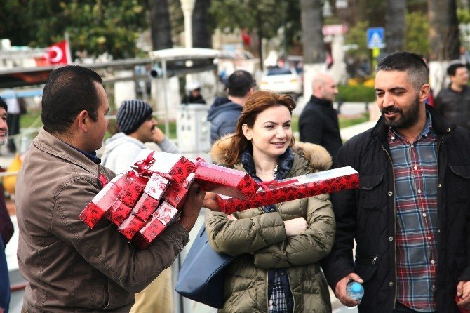 Bodrum'da Sevgililer Günü Kutlaması