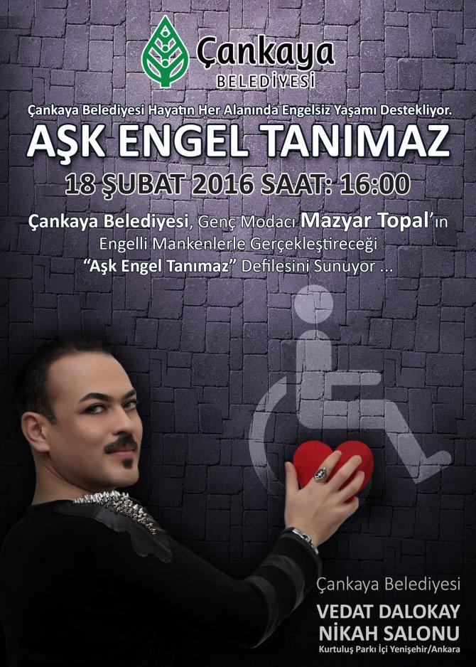 İranlı sanatçıdan Türkiye'de 'aşk engel tanımaz' defilesi
