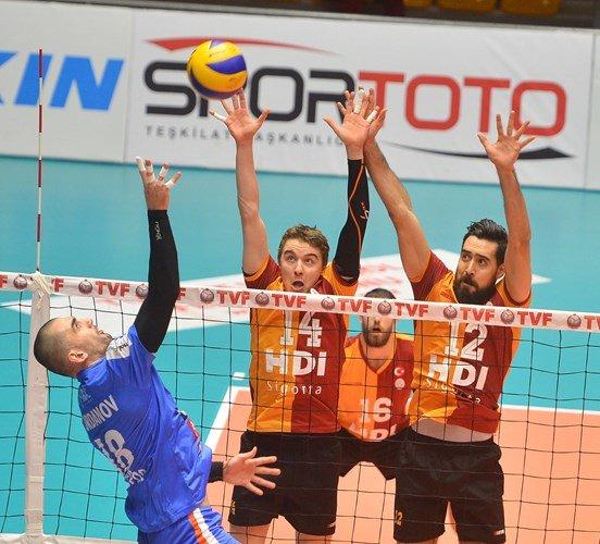 Galatasaray HDI Sigorta: 3 - İnegöl Belediyespor: 1