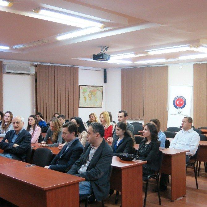 ''Gürcistan Genç Kamu Görevlileri Eğitim Organizasyon Projesi'' Tamamlandı