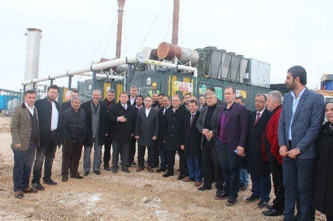 İstanbul Muhtarlar Dayanışma Derneği Üyeleri Çöpten Elektrik Üretim Tesisini Gezdi