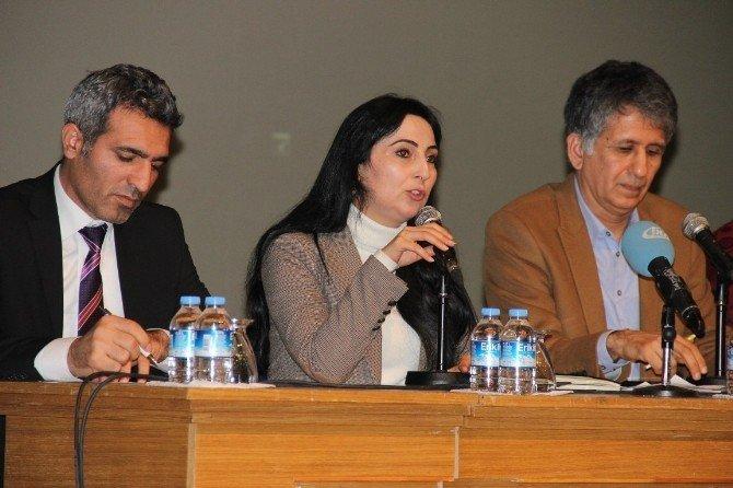 HDP Eşgenel Başkanı Yüksekdağ İzmir'de Konuştu
