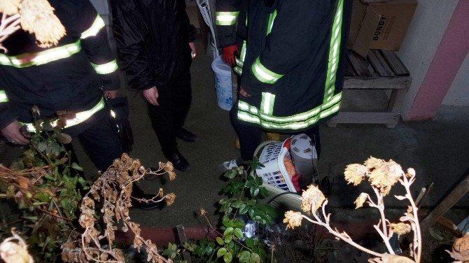 Tosya'da Bir Evde Çıkan Yangın Korkuttu