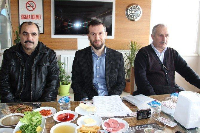 MHP Başkan Adayı Sertan Kuzu Basın Mensupları İle Buluştu