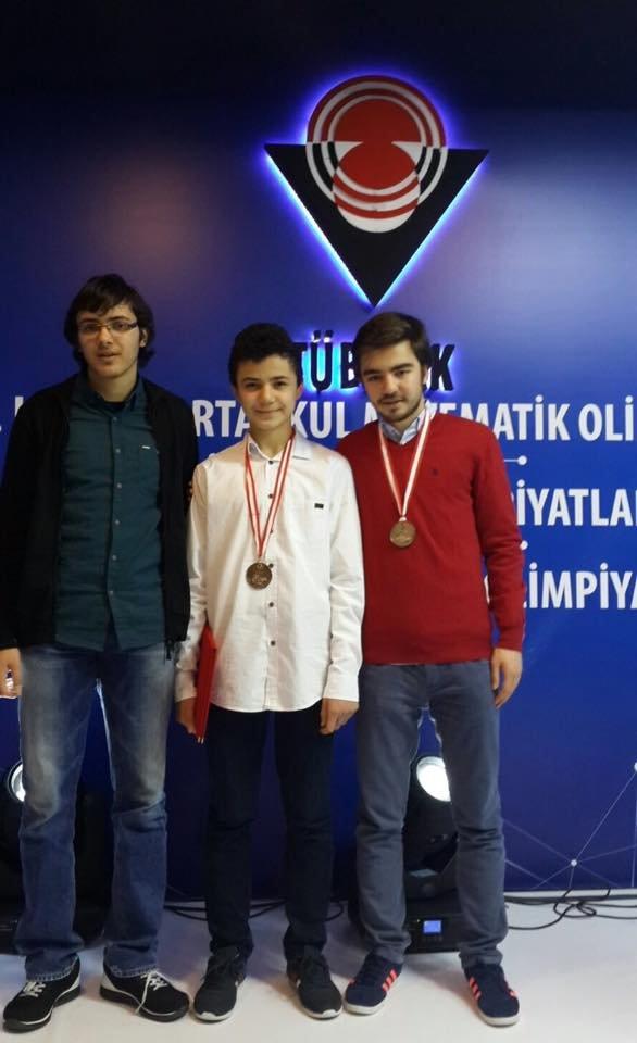 Toros Koleji, TÜBİTAK Matematik Olimpiyatları'nda 2 gümüş madalya kazandı