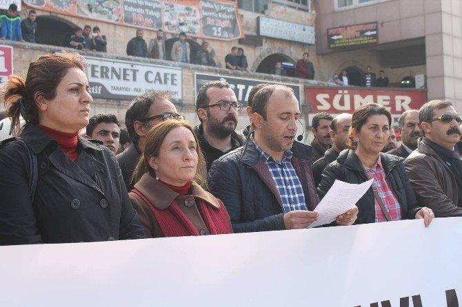 Şanlıurfa'da HDP Ve DBP'lilere Polis Müdahalesi