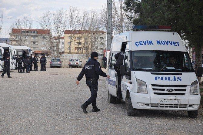 Amed Maçında 900 Polisle Geniş Güvenlik Önlemi