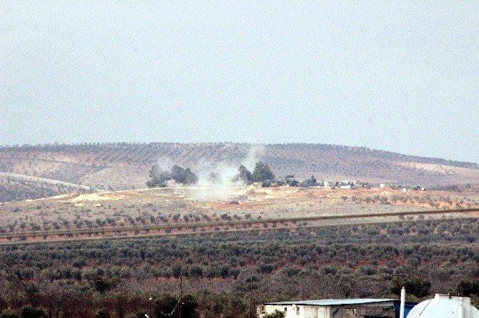 TSK, Pyd İle IŞİD Mevzilerini Yerle Bir Etti