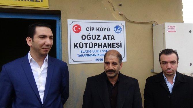 Ülkü Ocakları, Elazığ'da üçüncü köy kütüphanesini açtı