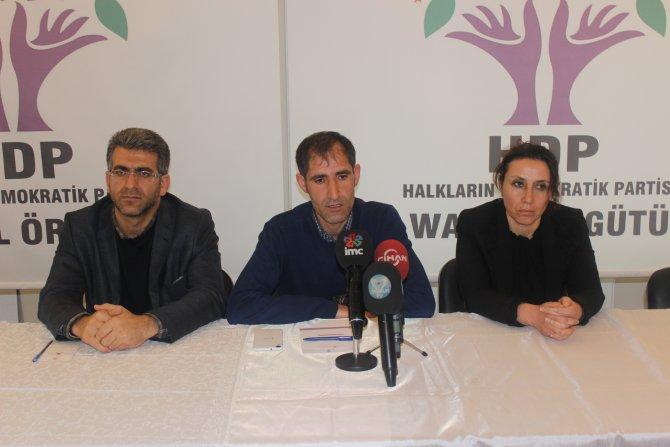 HDP'den, Milletvekili Geveri'nin tartaklanmasına tepki