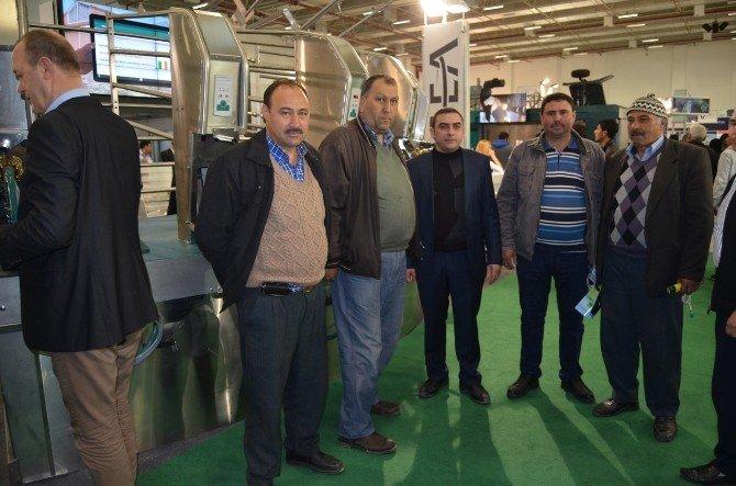 Kulalı 300 Süt Üreticisi Fuara Katıldı