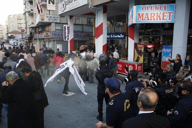 Antalya'da HDP Eylemine Polis Müdahalesi