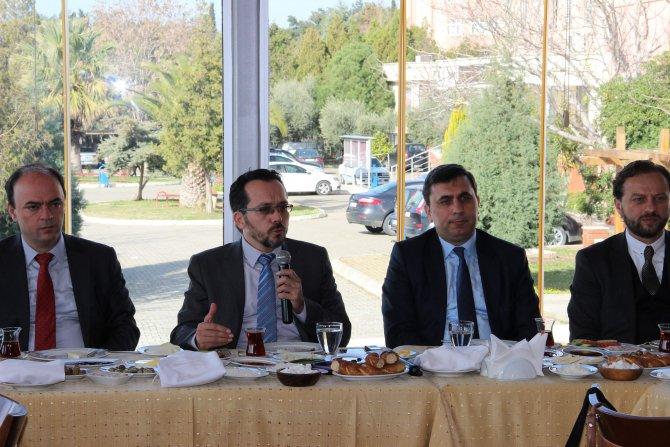 Rektör Bircan, Aydınlılardan ADÜ'ye destek istedi