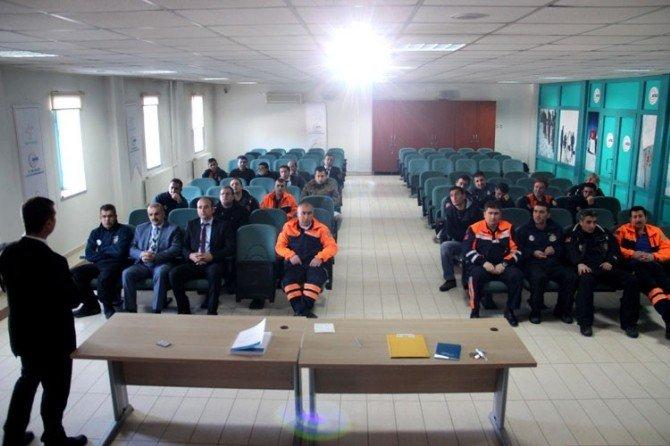 AFAD, Personeline Yönelik Hizmet İçi Eğitimi Devam Ediyor