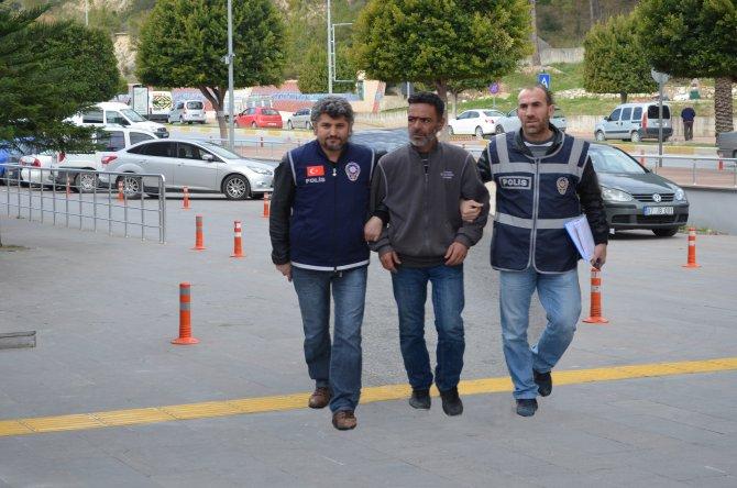 Tablet çalan zanlı mahkemece tutuklandı