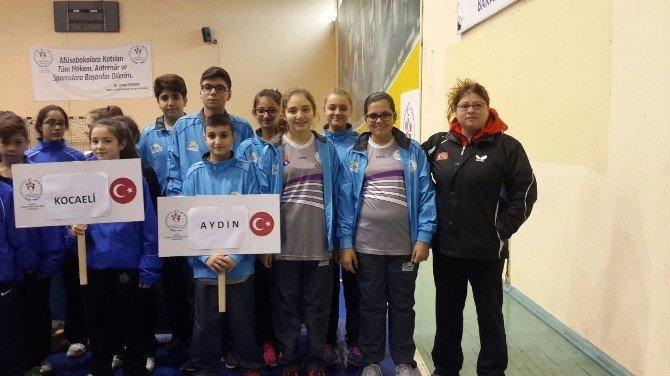Aydın Analig Masa Tenisi Ve Hentbolda Yarı Finale Yükseldi