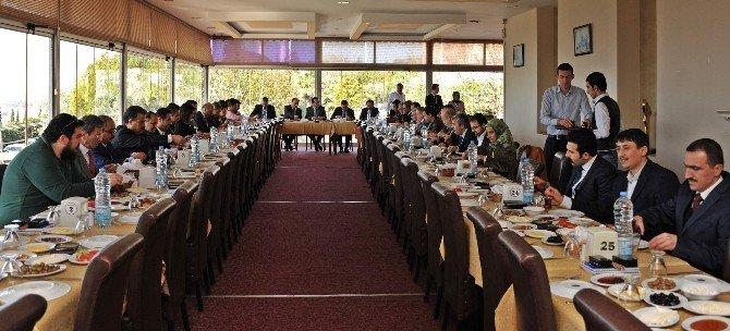 ADÜ Rektörü Bircan, Aydın Basınıyla Bir Araya Geldi