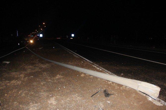 Bolu Da Trafik Kazası; 1 Yaralı