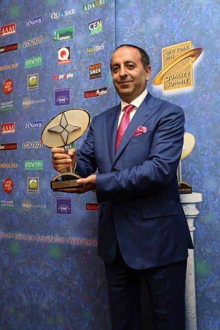 Türkoğlu, 'Dünya Kalite Elçisi' Seçildi