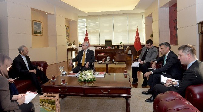Kılıçdaroğlu, İran Ankara Büyükelçisi Bıkdelı İle Görüştü