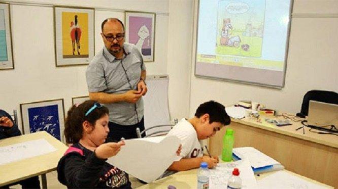 Turhan Selçuk Sanat Okulu'nda resim ve karikatür kursu açılıyor
