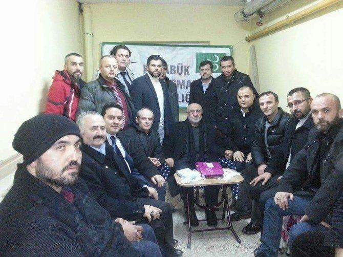 Diriliş Başkanları Derneğinden Türkmenlere Yardım