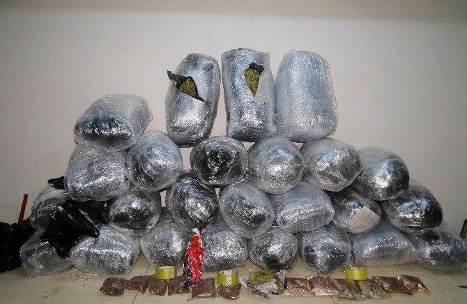 Diyarbakır'da Uyuşturucu Tacirlerine 11 Günde 12 Operasyon